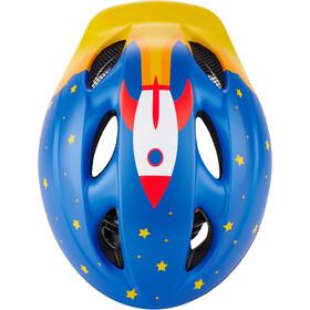 MET Superbuddy Fietshelm Kinderen, blauw/geel